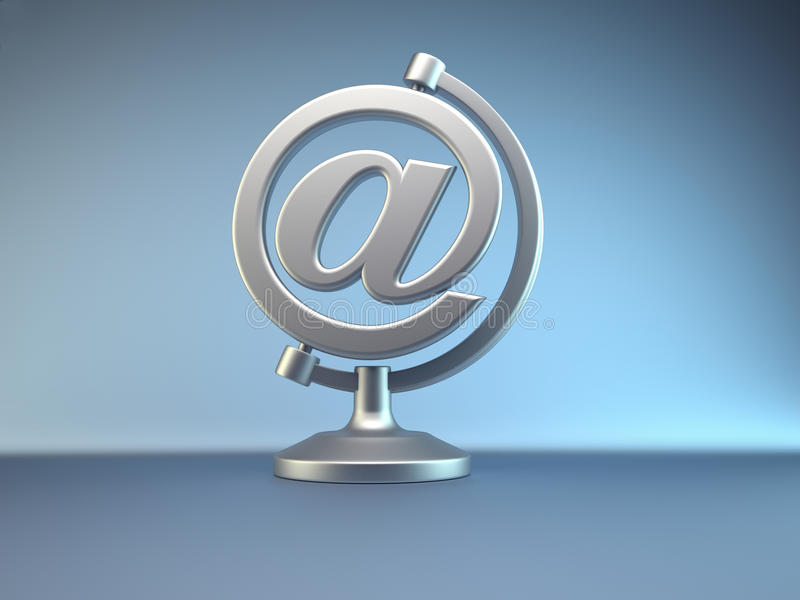 E-mail symbool vector illustratie