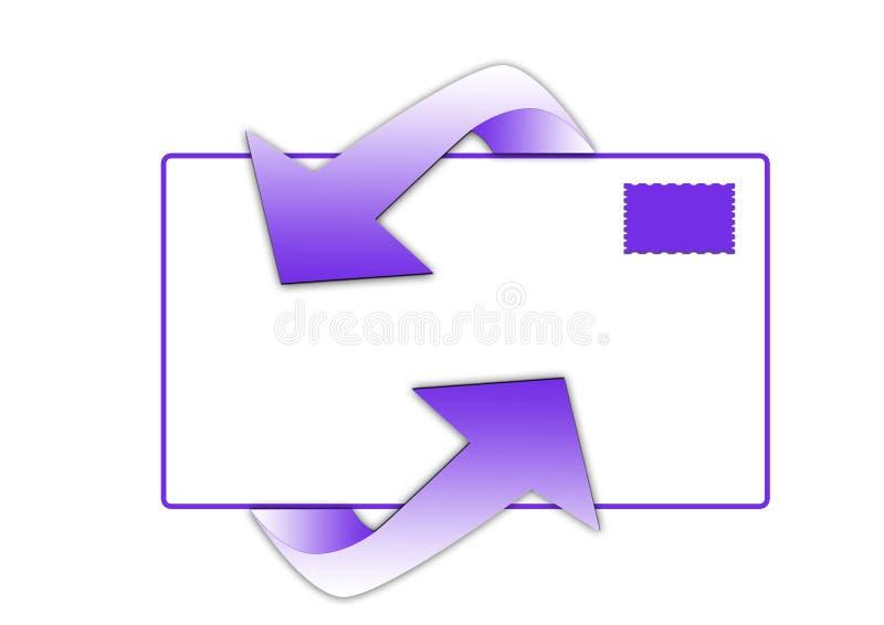E-mail symbool royalty-vrije stock afbeeldingen