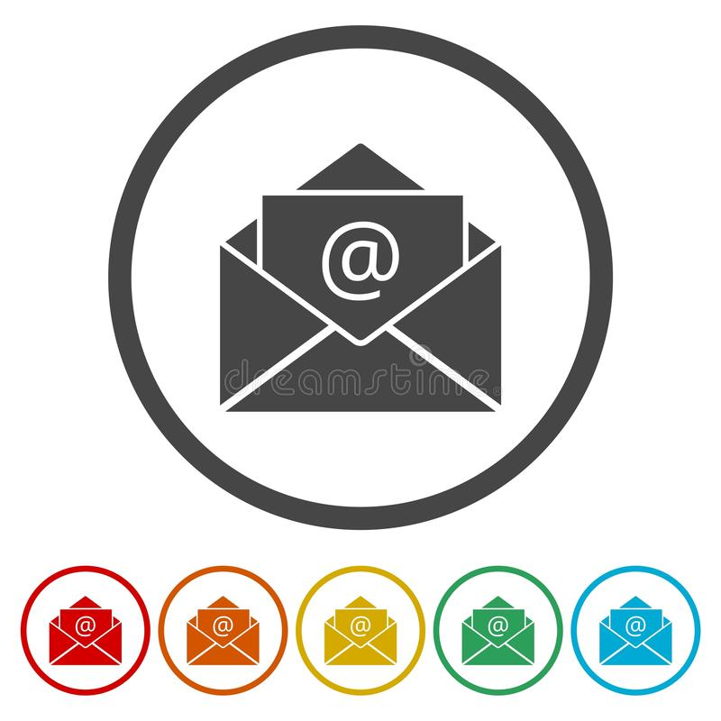 E-mail Vector royalty free illustration