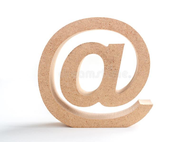 E-mailadres stock foto