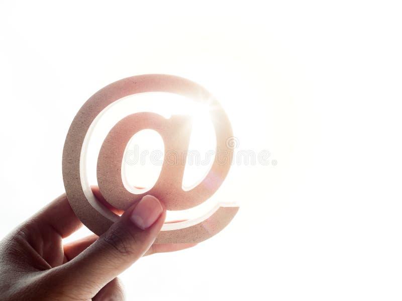 E-mailadres royalty-vrije stock afbeeldingen