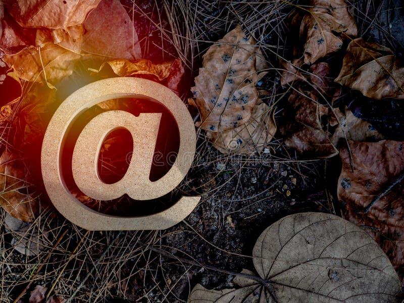 E-mailadres royalty-vrije stock foto's