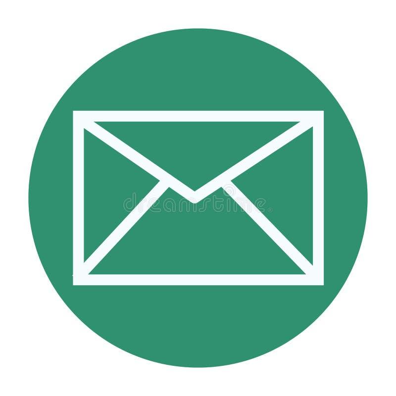 E-mailenvelopsymbool royalty-vrije illustratie