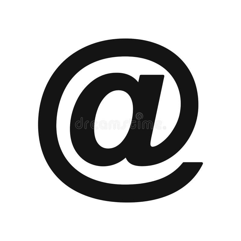 E-maillijnpictogram - vector stock illustratie