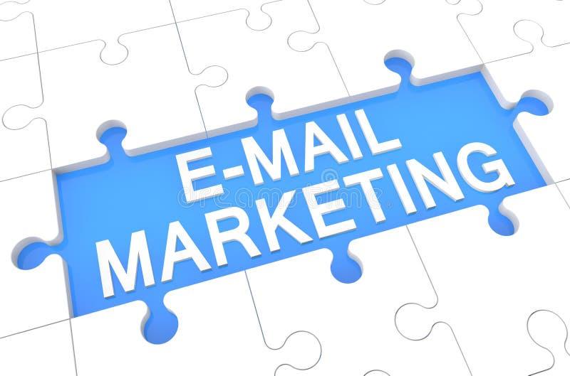E-mailowy marketing zdjęcia royalty free