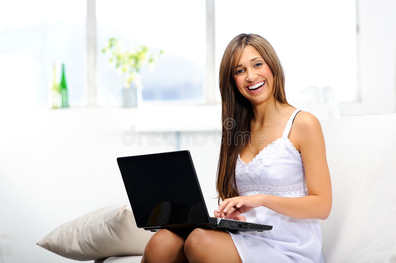 Download E-mails On Wireless Connection Stock Photo - Image: 21794058
