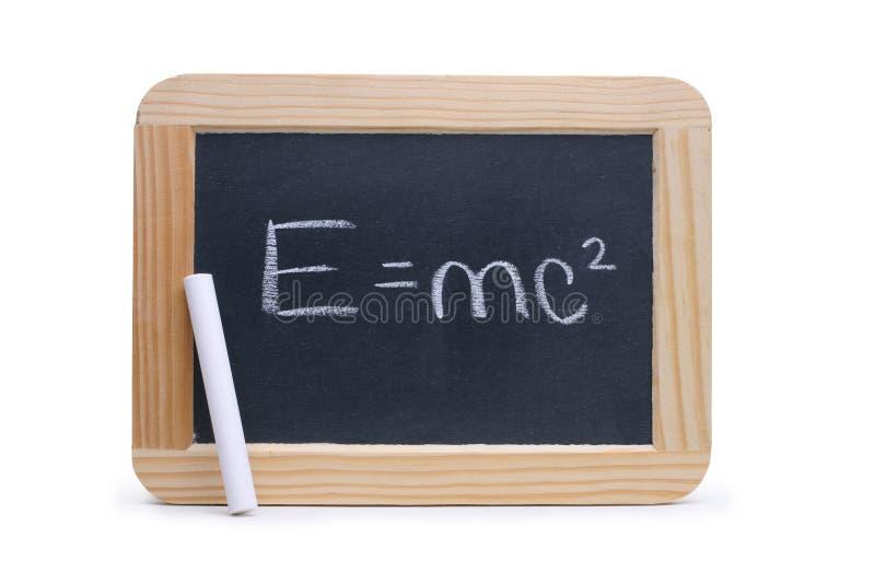 E=mc² stock photography