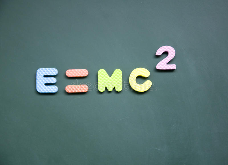 Download E=mc2 sign stock photo. Image of horizontal, college - 24033488