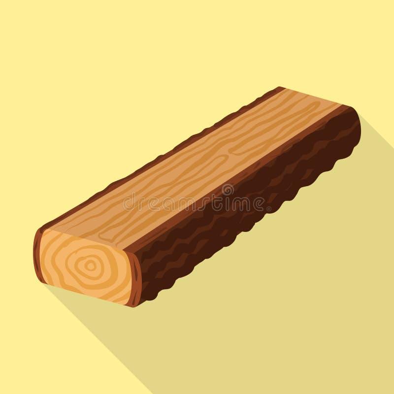 E Metta del simbolo di riserva del legname e del legname per il web royalty illustrazione gratis