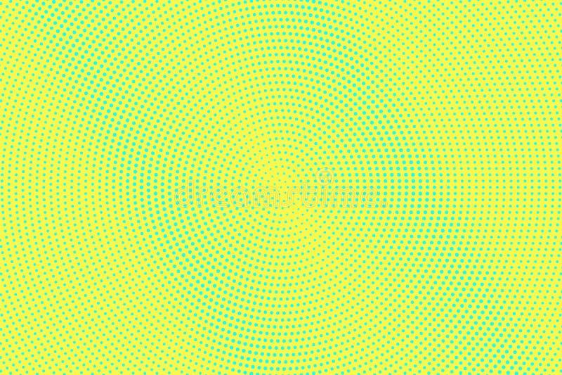 E Micro- halftone textuur Gecentreerde dotwork gradi?nt r vector illustratie
