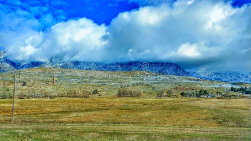 e Milhas de NATURE& x27; Opiniões dos EUA Colorado da BELEZA de S fotografia de stock royalty free