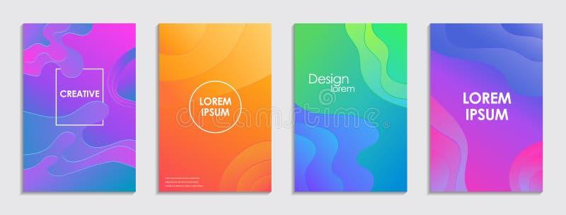 E modern design vektor illustrationer