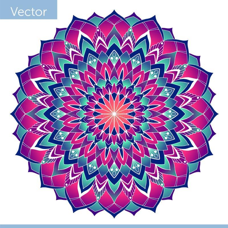 E motif oriental illustration de vecteur