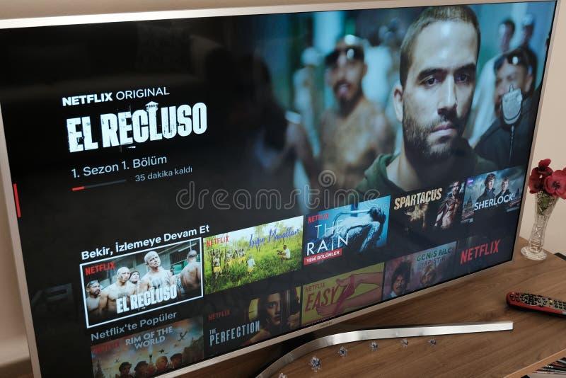 E movies stock foto