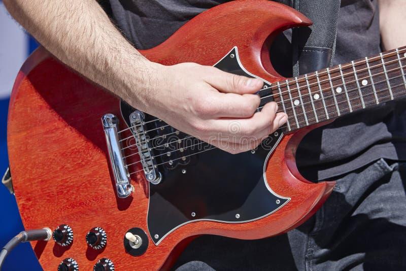 E Muzikaal instrument toon stock foto's