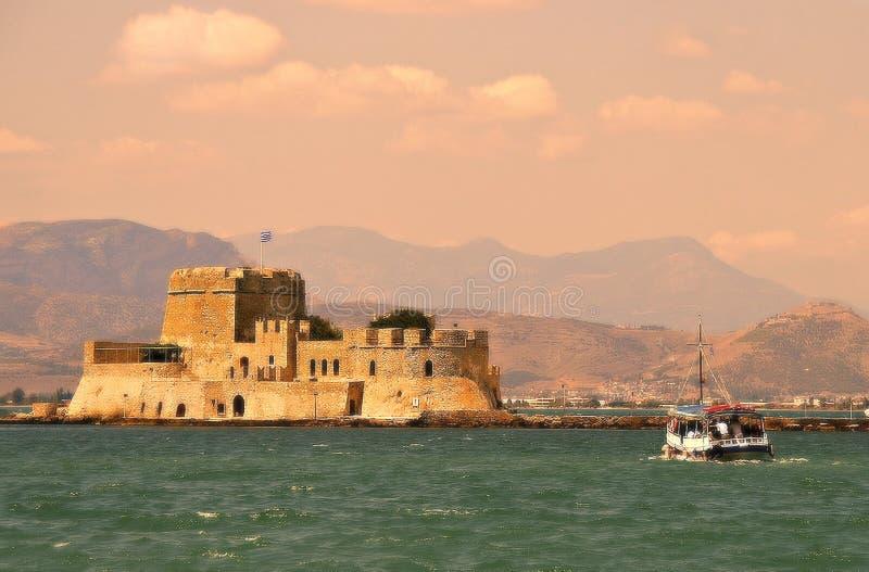 E Nafplions-Stadt Griechenland lizenzfreie stockbilder