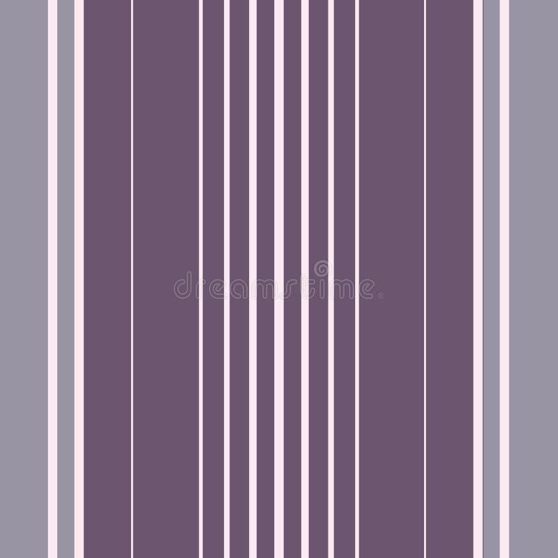 E Nahtloses Vektormuster mit vertikalen Streifen r vektor abbildung