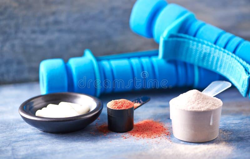 E Nutrition de sport photo stock
