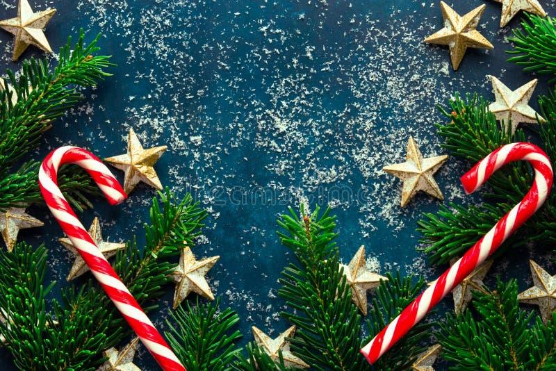 E nytt år för jul arkivbild