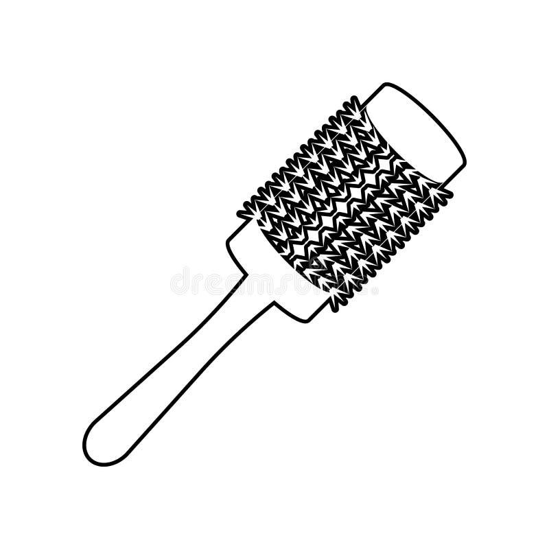 гребень для вводить значок в моду E r бесплатная иллюстрация