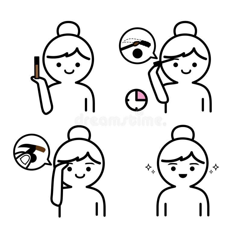 E ocks? vektor f?r coreldrawillustration vektor illustrationer