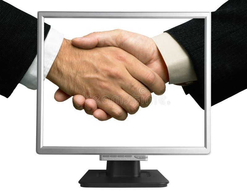 e partnerstwa zdjęcia stock