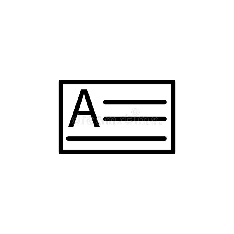 E Peut être employé pour le Web, logo, l'appli mobile, UI, UX illustration stock