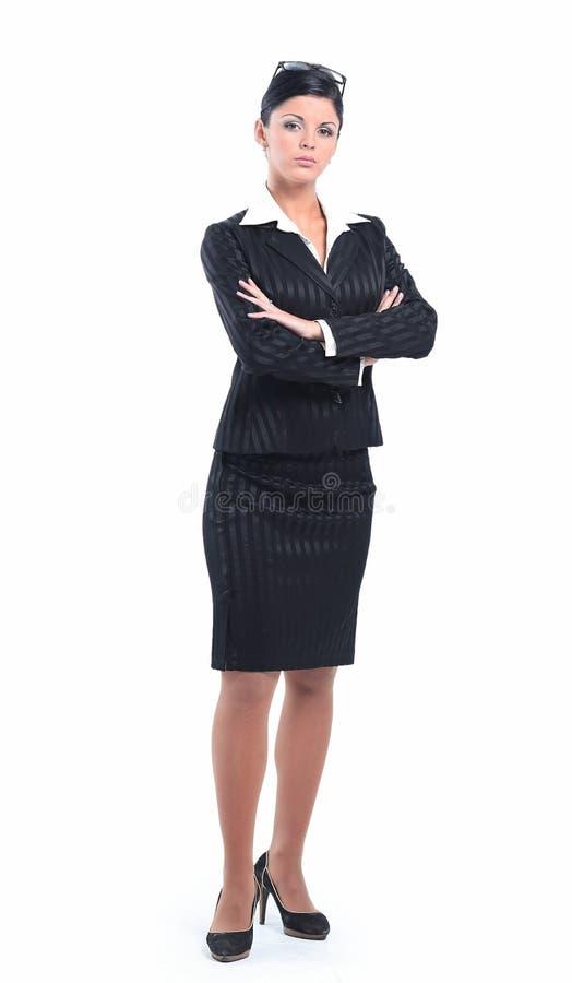 E pewna kobieta jednostek gospodarczych fotografia stock