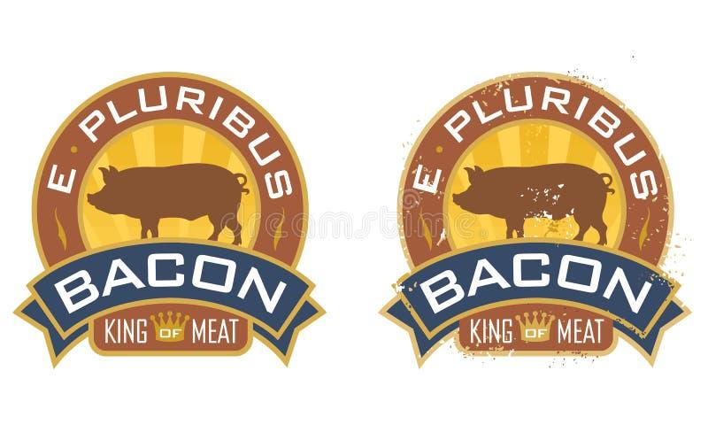 E Pluribus烟肉 皇族释放例证