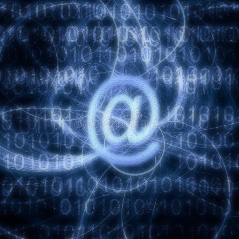 e-post arkivbild