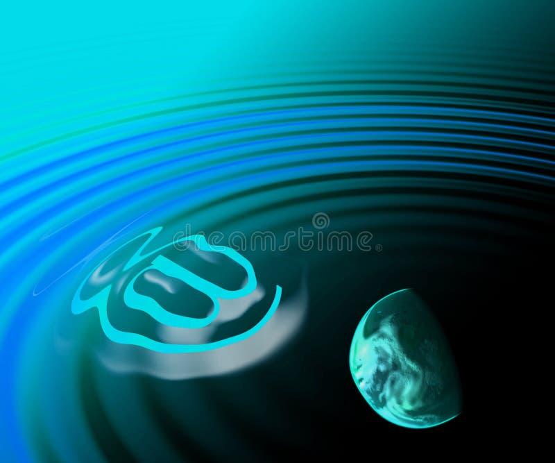 E-postplanet Arkivbild