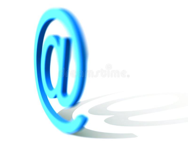 e-posttecken royaltyfri bild