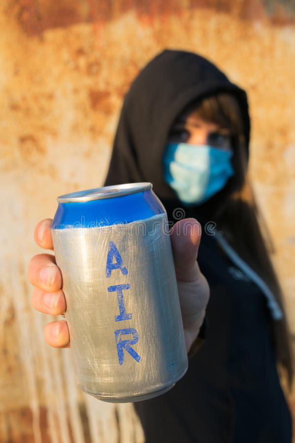 E que ar é você que respira?! imagem de stock royalty free