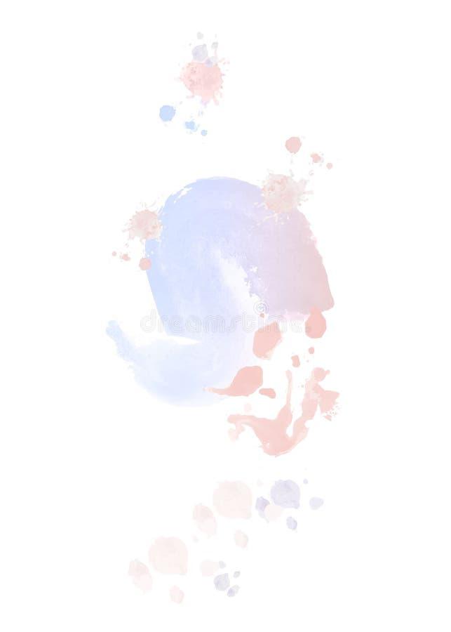 E r 图画要素自然徒手画风格化 库存例证
