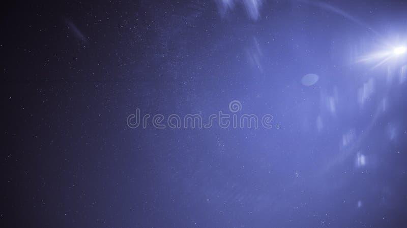 满天星斗的天空 E 宇宙天空 免版税库存照片