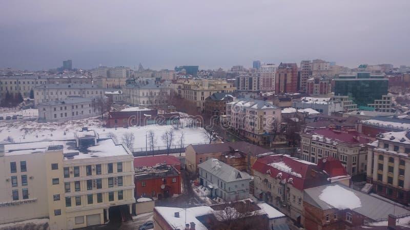 E 喀山,鞑靼斯坦共和国,俄罗斯 免版税库存照片