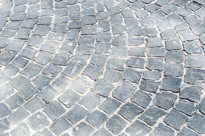 Старая текстура мостовой стоковая фотография