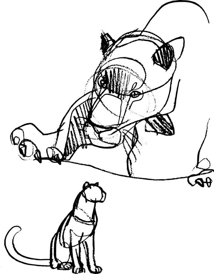 E ilustração do vetor