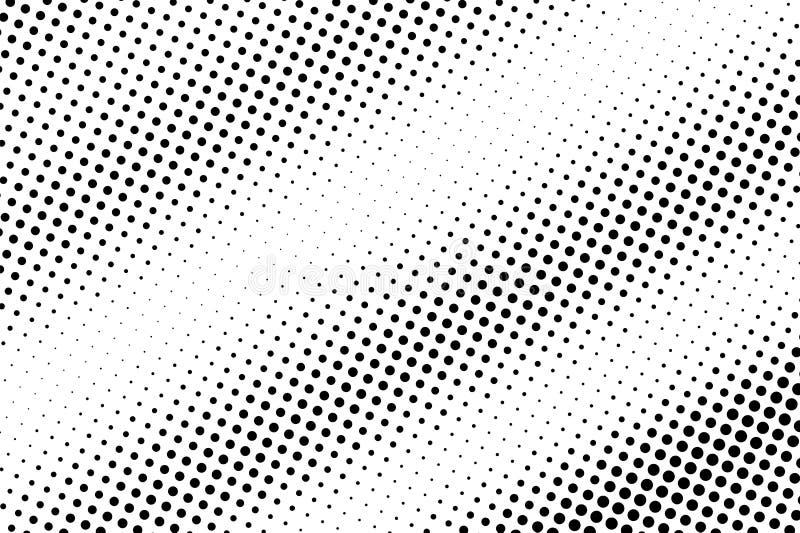 E r Contrast dotwork oppervlakte stock illustratie