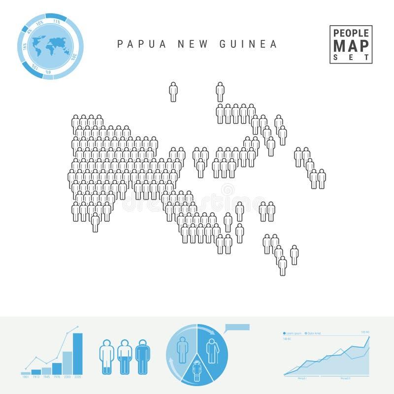 E r Crescimento demográfico, Infographics de envelhecimento ilustração royalty free