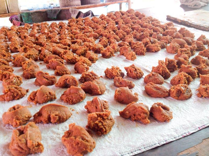 Melasa trzciny cukrowej z roślin trzciny cukrowej Sok z trzciny cukrowej jest jednym z najpopularniejszych napojów w Hongkongu Pr zdjęcie royalty free