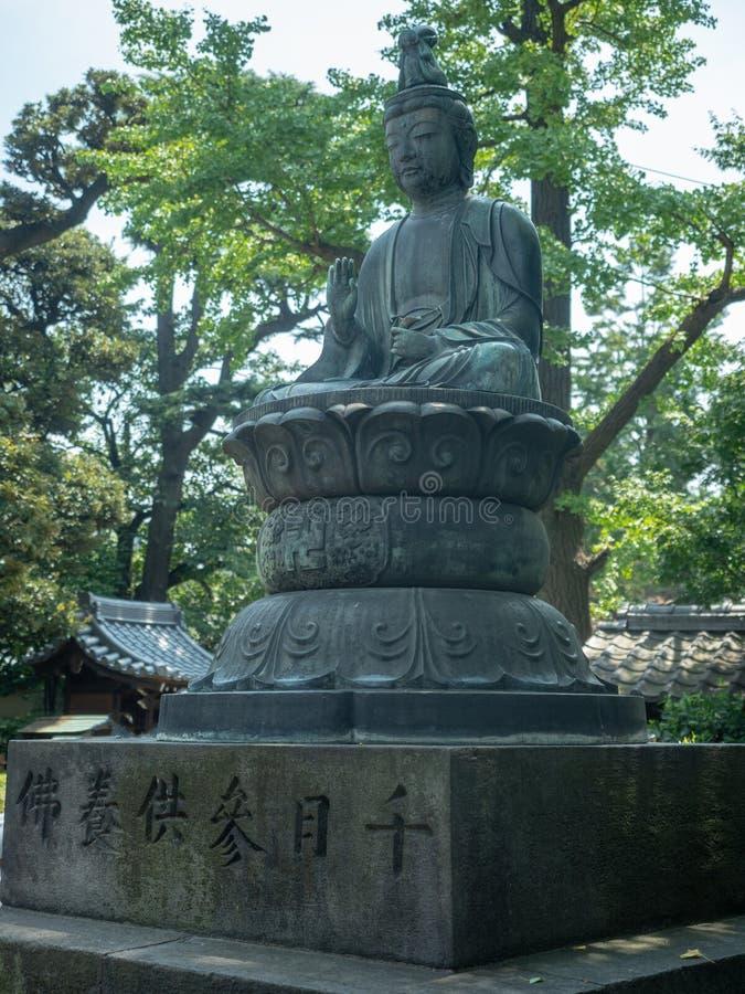 SensÅ- - ji Tempel, Tokyo, Japan stockfotografie