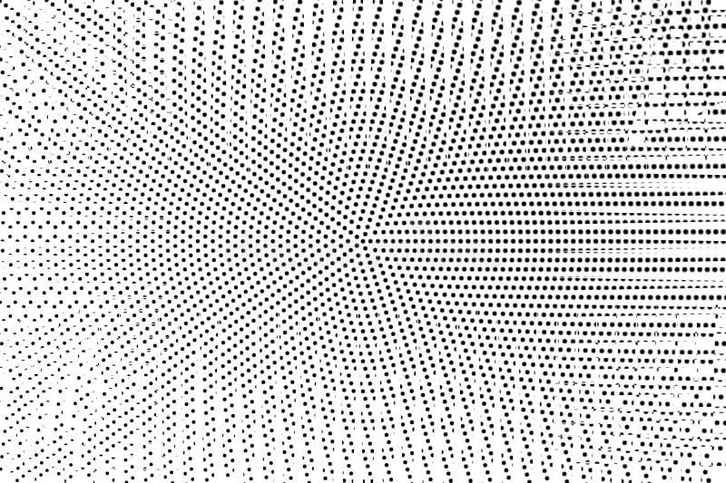 E r Grungy dotworkoppervlakte r vector illustratie