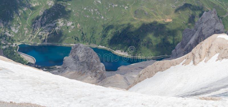 E r Italienska Alps Dolomites Italien fotografering för bildbyråer