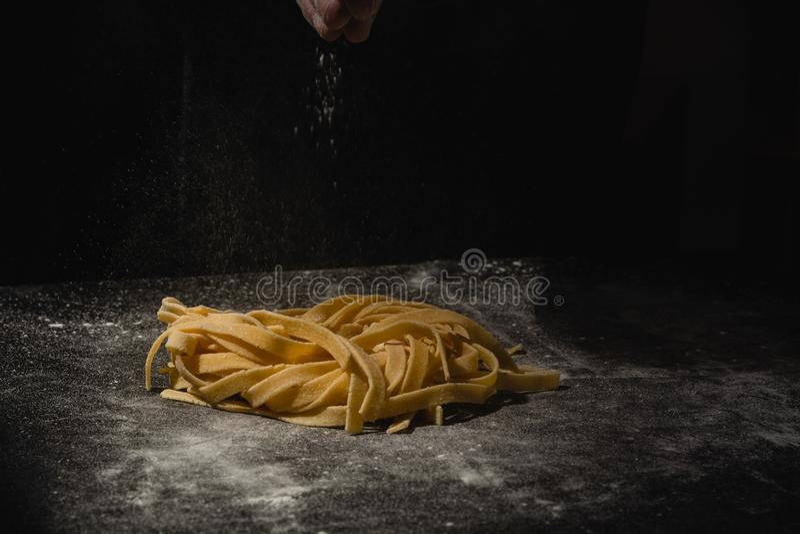 E R?ki robi makaronowi spaghetti r r obrazy royalty free