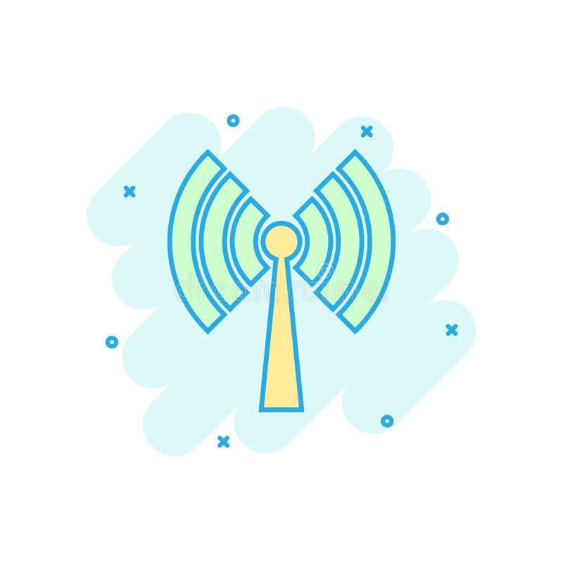 E r Netz wifi Geschäftskonzept lizenzfreie abbildung