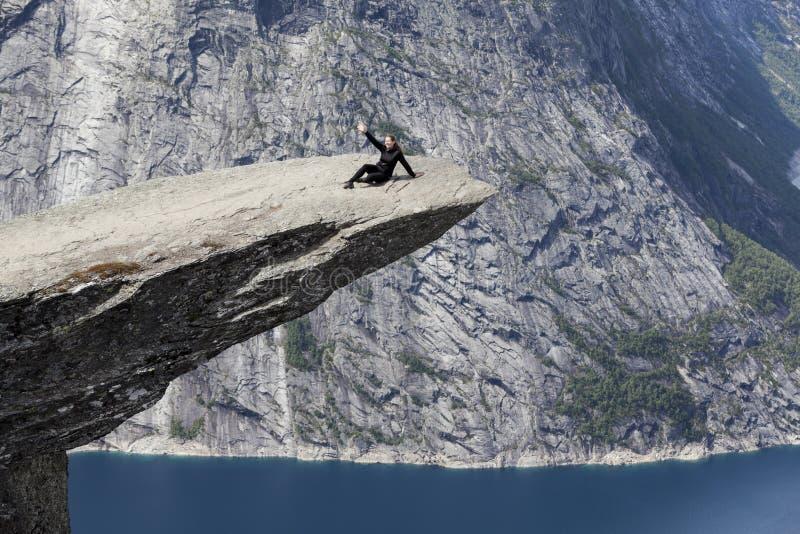 E r noorwegen stock fotografie