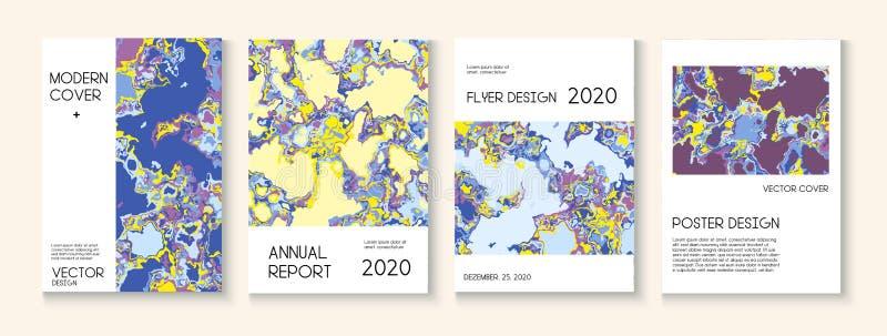 Пластиковая заливка, макет векторной обложки векторной текстуры Журнал Trendy Magazine, шаблон музыкального плаката Экологический бесплатная иллюстрация
