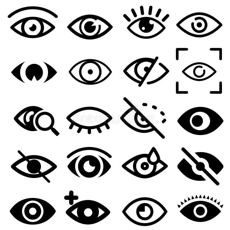 眼睛传染媒介象 肉眼、视觉和看法例证标志 E 可看见,睡眠和医学监督观察,len 向量例证