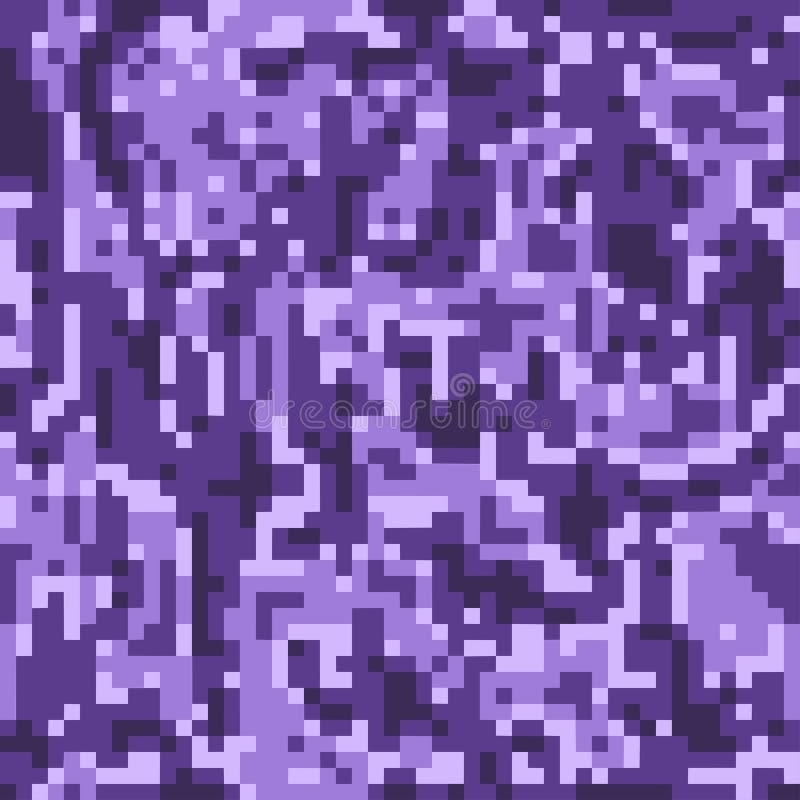 数字伪装样式背景,无缝的传染媒介 经典军事衣物样式 掩没的军队camo背景 皇族释放例证